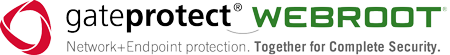 logo GateProtect Webroot Complete Security